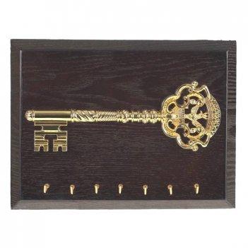 Ключница настенная ключ, l 25 h 19 см