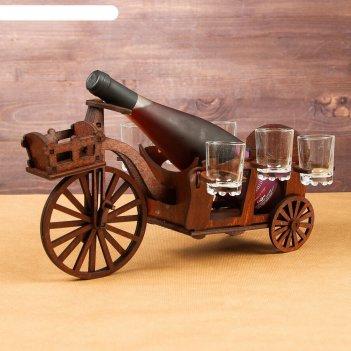 Мини-бар деревянный велосипед