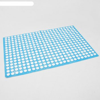 Аппликатор кузнецова, 384 колючки, спанбонд, голубой, 500*750 мм