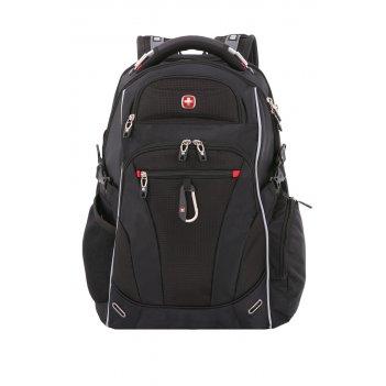Рюкзак swissgear, scansmart 15, чёрный/красный, полиэстер 900d/добби, 34x2