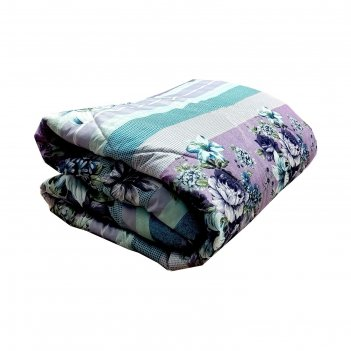 Одеяло холофитекс, 172х205 см, синтетическое волокно 150 гр, цвет микс