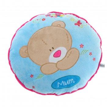 Мягкая игрушка-подушка с мишуткой