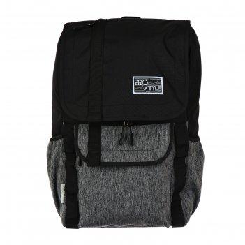 Рюкзак молодежный hatber city style 40 х 26 х 14, для девочки, чёрный