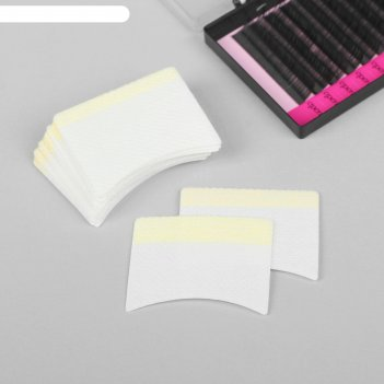 Набор защитных наклеек для изоляции нижних ресниц и макияжа, 20 шт, 3,5 x