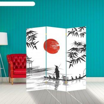 Ширма бамбук. декор 4 150 x 160 см