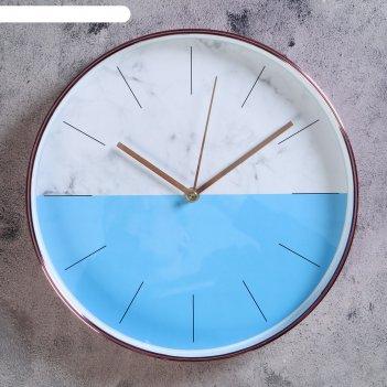 Часы настенные, серия: классика, амасия, d=30 см, микс