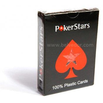Карты покер старс (poker stars) 100% пластик