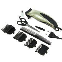 Машинка для стрижки волос kelli kl-7003,  45 вт, 4 съемных гребня микс