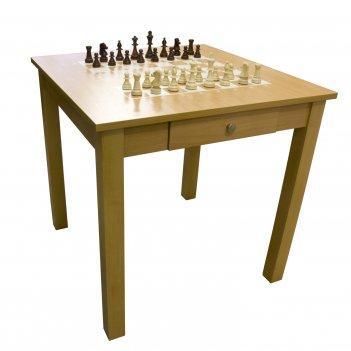 Турнирный шахматный стол (светлый)