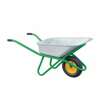Тачка садово-строительная, усиленная, грузоподъемность 200 кг, объем 90 л