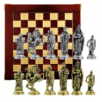 "Шахматы сувенирные ""крестоносцы"""