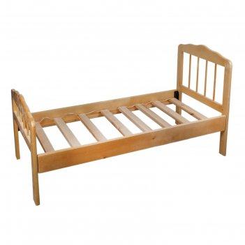 Детская кроватка «непоседа-2», массив берёзы, цвет светлый