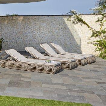 Лежак для сада skyline design dynasty, садовая мебель