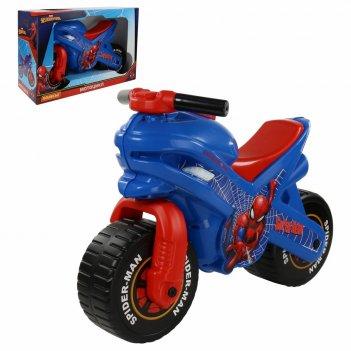 70555 каталка-мотоцикл marvel человек-паук (в коробке)