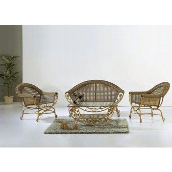 Комплект мебели из искусственного ротанга эвридика
