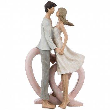 Статуэтка влюбленные 15*7*25 см. серия фьюжн