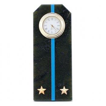 Часы погон лейтенант авиации вмф камень змеевик