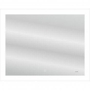 Зеркало cersanit led 030 design 100x80 см, с подсветкой, антизапотевание