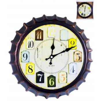 Часы настенные круглые home art «штурвал светлый» 30,2 см