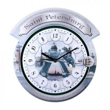 Настенные часы гранат серия gemini g 017030 granat
