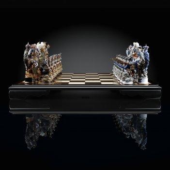Шахматы швейцарский поход суворова (фарфор) каdun