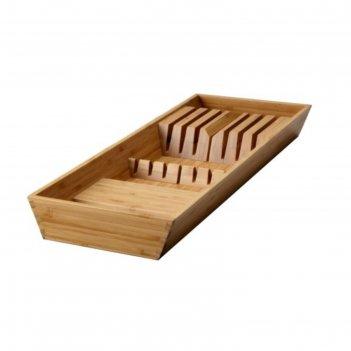 Подставка для ножей варьера, бамбук
