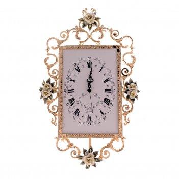 Часы rectangular big rosaperla