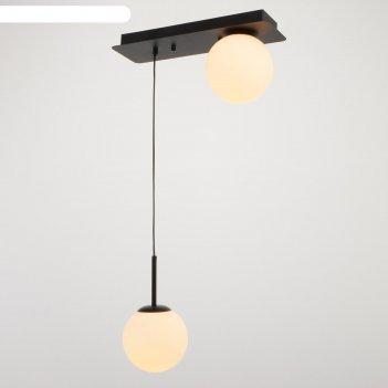 Светильник 61117/2 e14 40вт черный 40x15x120 см