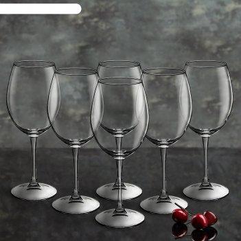 Набор фужеров для красного вина 6 шт 440 мл enoteca