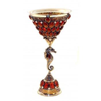 Кубок посейдона из янтаря
