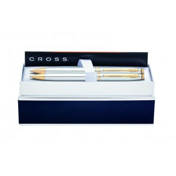 Набор: шариковая ручка и карандаш 0,7 мм cross at0101g-6