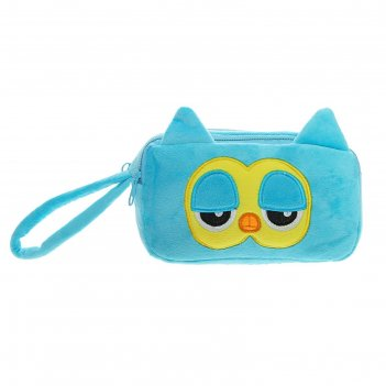 Мягкая сумка совенок, цвета микс