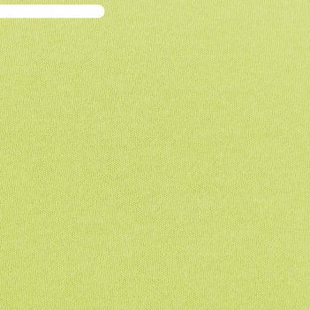 Простыня трикотажная на резинке, 80х200х20, цвет салатовый, 125 гр/м2