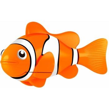Роборыбка клоун желтый лицензионное изделие от robofish zuru