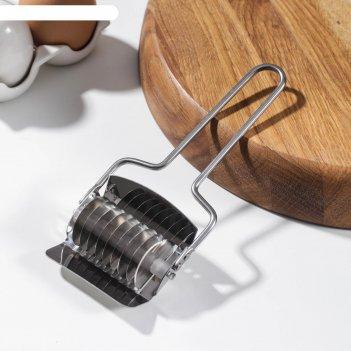 Нож для нарезания домашней лапши konfinetta «профи», 5 мм, 15,5x6,5x3 см