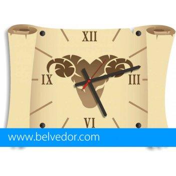 Часы настенные овен 39х28 см