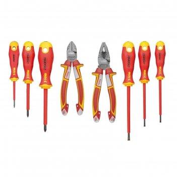 Набор инструментов felo ergonic 41398517, диэлекрических, 8 шт.