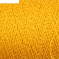 Пряжа в бобинах a-elita (аэлита) 50% шерсть, 50% акрил (216 канарейка)