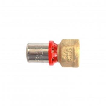 Муфта-пресс tdm brass 1635 1216, 1/2 х 16 мм, внутренняя резьба, латунь