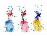Настольный набор детский белочка из 5 предметов: подставка, ножницы, линей
