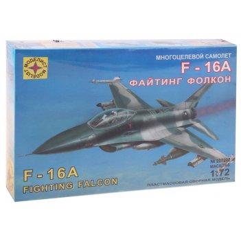 Набор сборной модели - самолет многоцелевой f-16a файтинг фолкон (1:72)