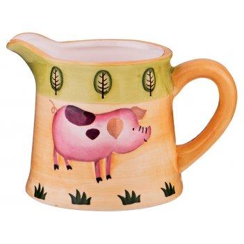 Молочник-сливочник серия ферма 12,7*8,8*8,8 см
