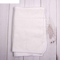Пеленка детская, размер 75*110 см, цвет белый 05-06ф
