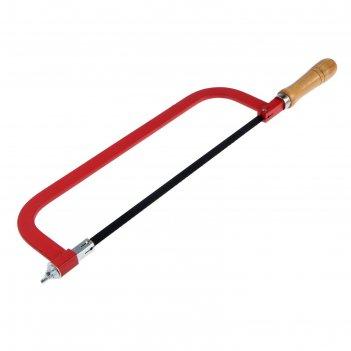 Ножовка по металлу tundra basic, деревянная ручка, 300 мм