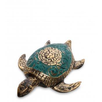 24-172-01 фигурка морская черепаха бронза (о.бали)