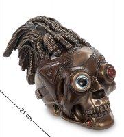 Ws-187 статуэтка в стиле стимпанк череп