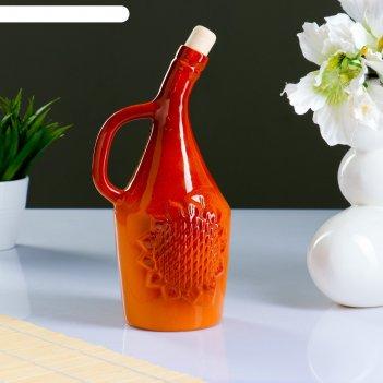 Бутылка для масла подсолнух 0,9л