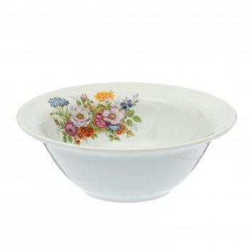 Миска «идиллия. букет цветов», 550 мл