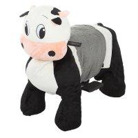 Зоомобиль коровка, с аккумулятором