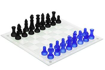 Игра настольная шахматы (стеклянные), 29х28,5х5,5 см